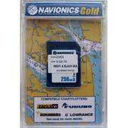 "Карта ""Днепр, Средиземное и Черное море (код 43XG)"" NAVIONICS GOLD для Lowrance, Eagle, Humminbird фото"