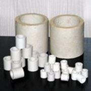 Насадки кислотоупорные керамические фарфоровые класса А-1-80 — А-1-150 / Кольца Рашига фото