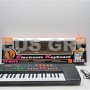 Синтезатор детский. 37 клавиш, режим записи, фонограммы, FM тюнер фото