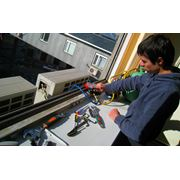 Установка бытового кондиционера оконного типа в Алматы фото