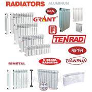 Алюминиевые и биметаллические радиаторы отопления фото