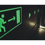 фотолюминисцентная пленка знаки на основе фотолюминисцентной пленки фото