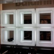 Ремонт корпусной мебели, витрин, прилавков. Замена стеклянных деталей, светильников. фото