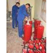 Освидетельствование огнетушителей фото