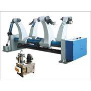 Оборудование гидравлическое раскатывающее для бобин Hydraulic Mill Roll Stand элемент линии по производству гофрированного картона гофрокартона гофротары фото