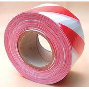 Барьерная лента(красно-белая)/Barrier tape (red-white) фото