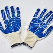 Перчатки х/б обливной наладонник фото