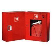 ШКАФЫ ПОЖАРНЫЕ для пожарного рукава и огнетушителя фото
