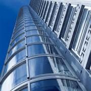 Фасад вентилируемый навесной из керамогранита фото