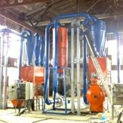 Линии производства топливных брикетов и пеллет из любой биомассы фото