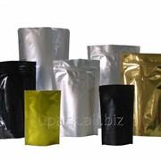 Пакет дой-пак с застежкой zip и дегазирующим клапаном 130мм х 200мм фото