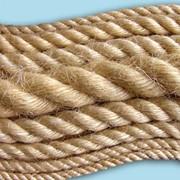 Джутовая веревка для деревянного дома фото