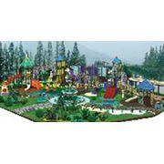 Детские площадки ATX-045A Игровые комплексы ATX-045A фото