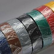 Лента изоляционная ПВХ 19мм*25м цветные Tesa фото