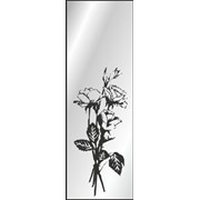 Обработка пескоструйная на 1 стекло артикул 2-07 фото
