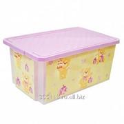 Ящик для игрушек 12 л. X-box bears 1026lv фото