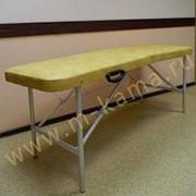 Стол массажный складной Базовый супер с вырезом 190х70 фото