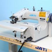 Швейная машина потайного стежка для подшивания низа изделий JATI JT-101 фото