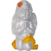 Девочка-ангел, сувенир из глины фото