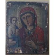 Реставрация икон. Пресвятая Богородица. фото
