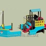 Игровой модуль корабль Габариты 9043х4300 фото