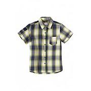 Рубашка в клетку с коротким рукавом фото