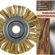 Щетка сизалевая на болгарку 150 мм. фото