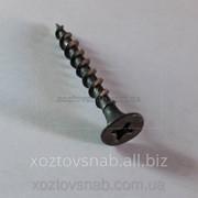 Саморез для гипсокартона по дереву (Китай) 3.8 мм, длина 64 мм. фото