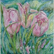 "Painting,"" Tulips"" фото"