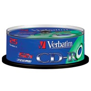 Диски CD-R Verbatim 700 MB 10*1 CAKE BOX фото