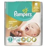 Подгузники PAMPERS Premium Care №2 (3-6 кг), 80 шт фото