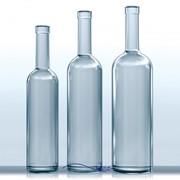 Производство чистой стеклянной бутылки от 0.05 до 1,0л. фото