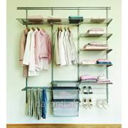 Комплектующие для гардеробных стеллажей фото