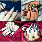 Новогодняя Акция! Обучение наращивание ногтей! фото