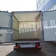 Фургон из сверхлегких прочных панелей MonoPan фото