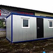 Блок-контейнер металлический 6х2,40 фото