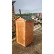 Туалет деревянный дачный фото