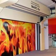 Секционные ворота Fire Marc-S фото