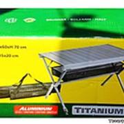 Раскладной стол для кемпингаTitanium фото