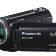 Видеокамера Panasonic HDC-SD80 Black фото