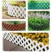 Заборчики садовые фото