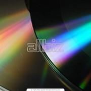 Диски DVD, тиражирование дисков, изготовление дисков фото
