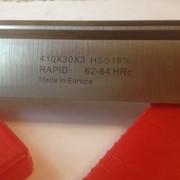 Строгальный( фуговальный ) нож по дереву HSS w18% фото