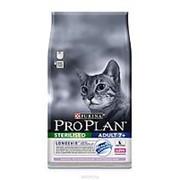 Pro Plan 1.5кг Sterilised 7+ Сухой корм для стерилизованных кошек старше 7 лет Индейка фото