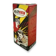 AlcoVirin (АлкоВирин) капли от алкоголизма фото