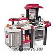 Smoby кухня электронная Tefal Super Chef Deluxe 311304 фото