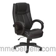 Кресло для руководителя Орлеан HB кожзам черный (Model-179 Pu+Pvc Black) фото