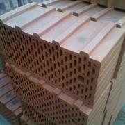 Блок керамический поризованный пустотелый пазо-гребневый КПППГ 14,46NF 515x250x219мм фото