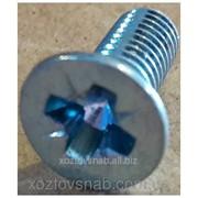 Винт потайной М8 15 мм. фото