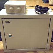 Монтаж системы контроля выдачи топлива на АЗС фото